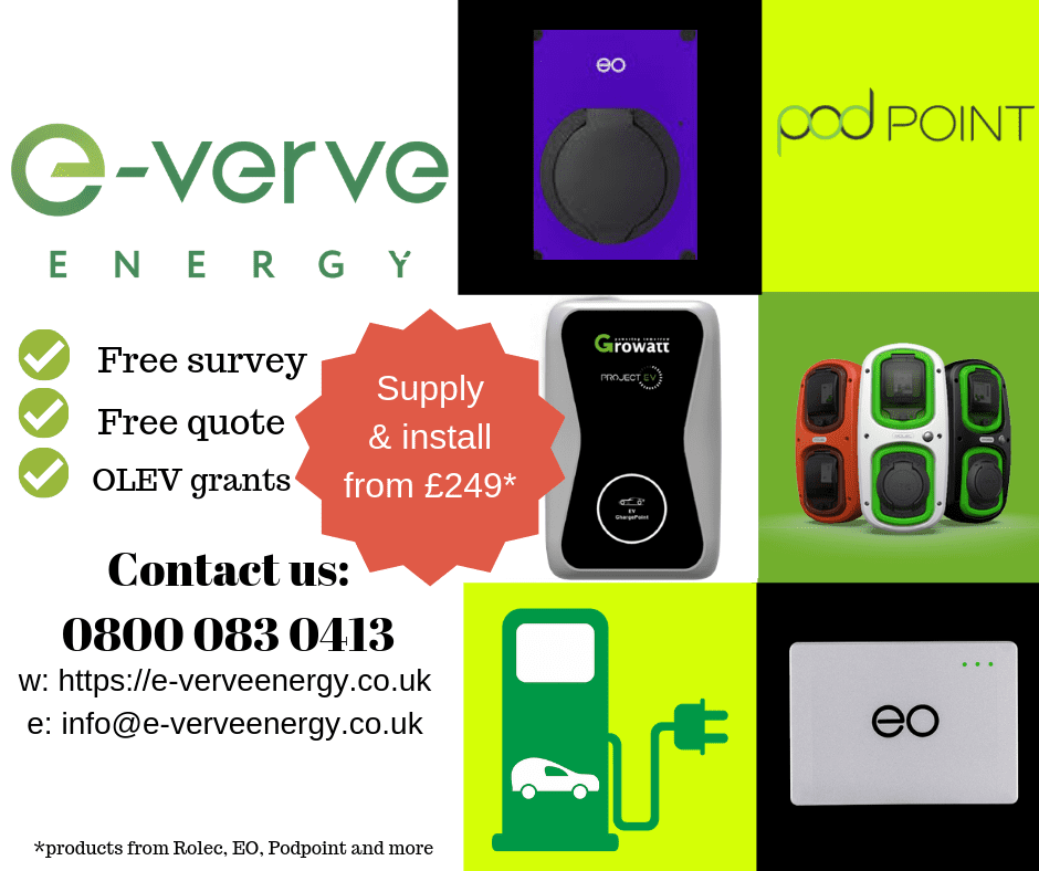 ev chargers north wales, ev chargers north west, ev chargers cumbria
