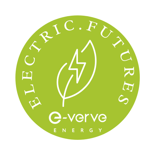 electric futures logo for green energy and eco fun learning for kids from e-verve energy